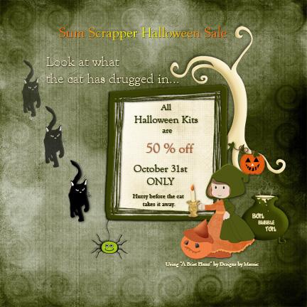 Halloween Kit Sale